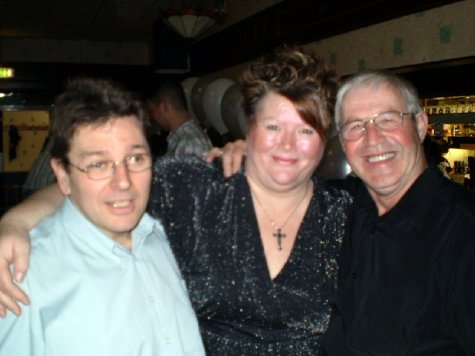 Jeff (son), Lyn (daughter-in-law) and Allan