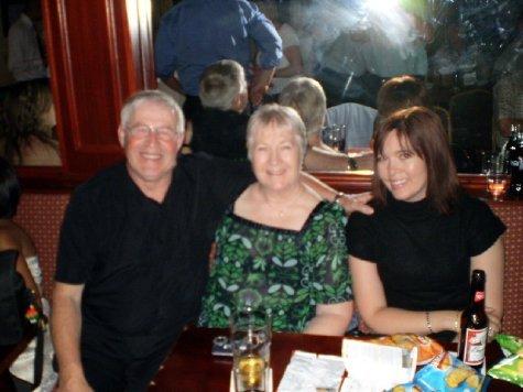 Allan, Sandra and Sam