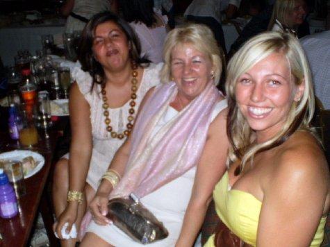 Sabina(g/daughter), Janet (daughter) and Sarah (g/daughter)