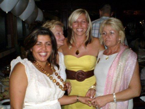 Sabina, Dot, Sarah and Janet