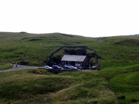 Entrance to Blue John Cavern