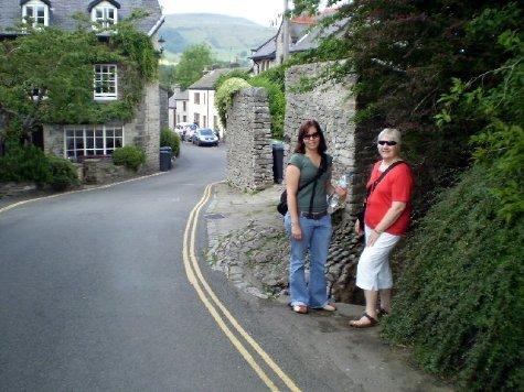 Sam and Sandra in Castleton