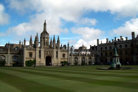 Courtyard of Kings College