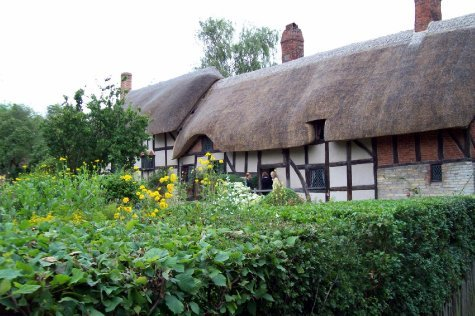 Ann Hathaway's cottage at Stratford