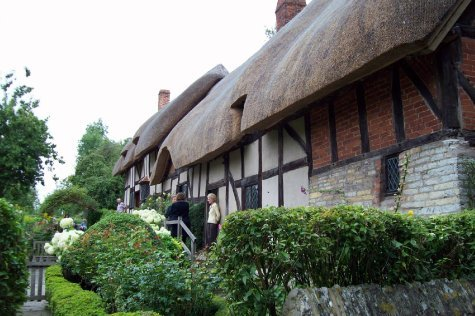 Ann Hathaway's cottage (Shakespeares wife)