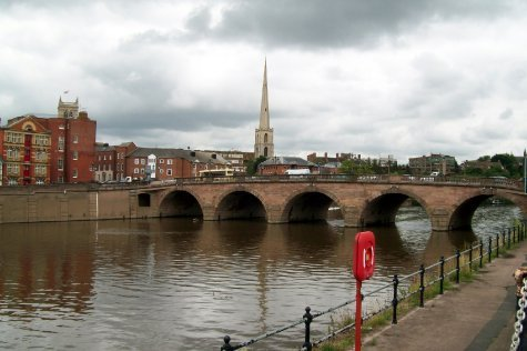River Wye at Worcester