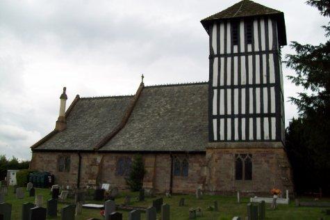 St Mary Magdalene church Streton Sugwash, Herefordshire