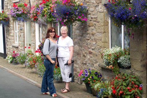 Sam and Sandra in Hay-on-Wye