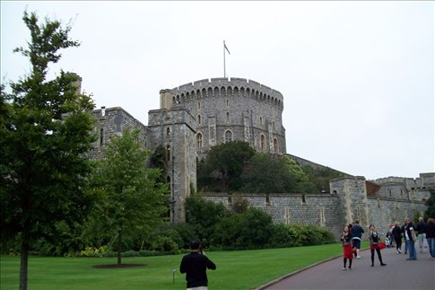 Windsor Castle-Round Tower