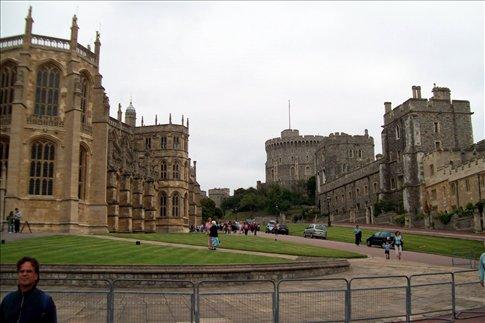 Inside Windsor Castle grounds