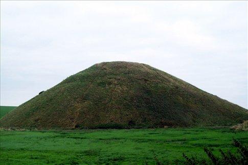 Closer view of Silbury Hill
