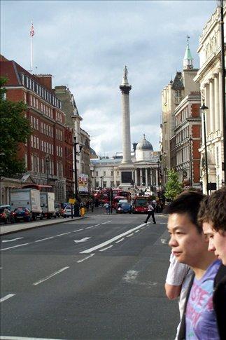 Nelson's Column frm Whitehall