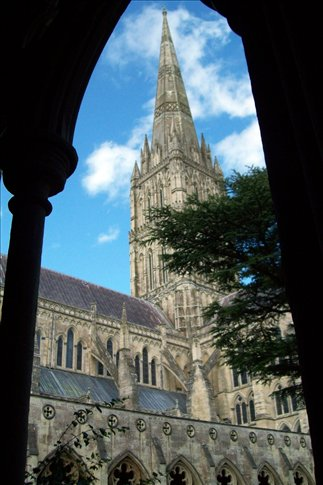 Cathedral from the cloisters