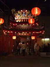 A small temple where people stopped to burn insence light candles: by royandania, Views[206]