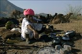 They kook their food and after taken the food they takes some rest at Puskar.: by royjayanta2, Views[82]