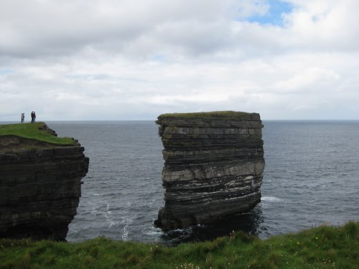 Views from Downpartick Head in county Mayo.