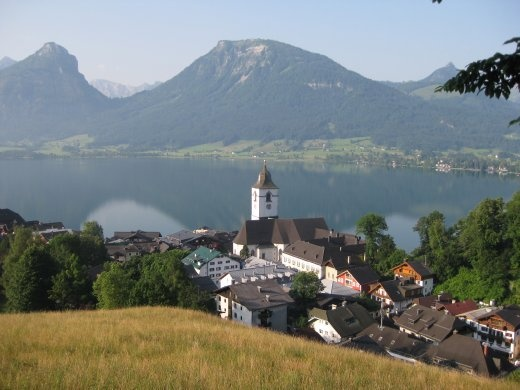 The enchanting village of St Wolfgang.