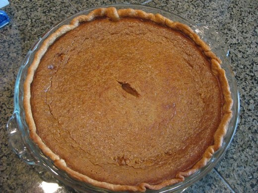 The seven years were worth the wait to make and eat pumpkin pie - it was soooo good.