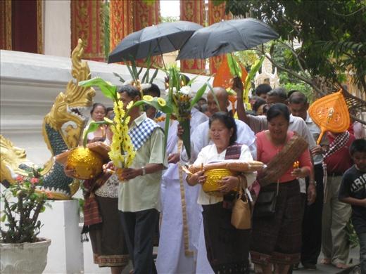 New monk ceremony.