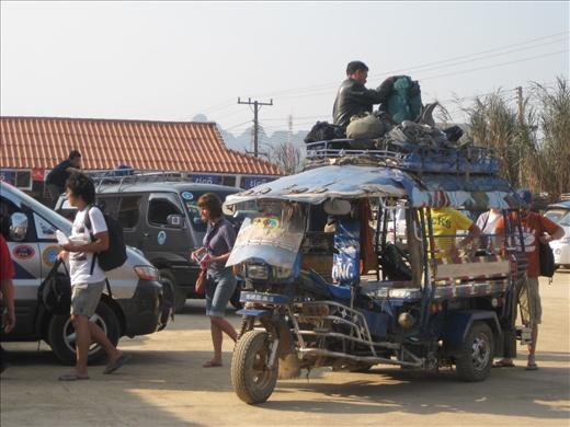 The 6 hr ride to Luang Prabang