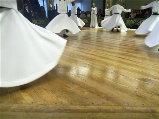 A dervish ceremony that was fascinating.