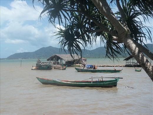 Fishing village.