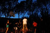 A late summer evening game of basket ball where 'travelling' is a foul !!: by rtwik, Views[65]