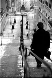 A man makes his way through his city. : by rubyj, Views[155]