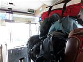 Just a few backpacks piled up on the way to the ferry (other seat the same): by russc_01, Views[64]