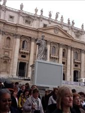 Outside view of The Sistine Chapel and in front of St. Peters Square in the Vatican City.: by ruthygirl, Views[384]