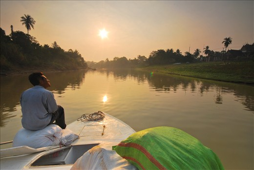 Tonle Sap river's scenic boat ride gave me the best 8 hours of travel on water.