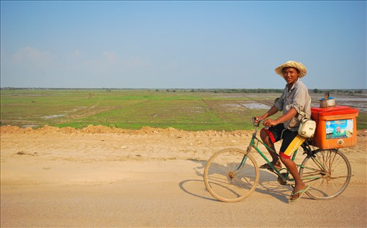 Cambodia isn't warm for its climate, but for its welcoming locals' smiles.  (Arrival at Siem Reap, Cambodia)