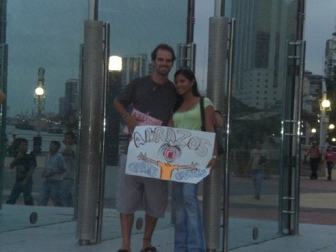 free hugs in Guayaquil