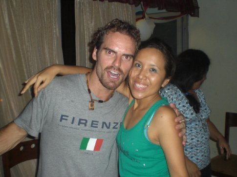 Guayaquil, Ecuador...with my last host Sara in Guayaquil...