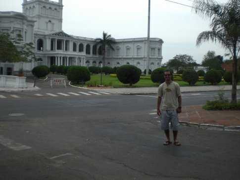 Asuncion, Paraguay...the president's palace