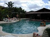 The nice pool at the 5 star backpackers hostel in La Fortuna: by ryanj_clark, Views[3315]