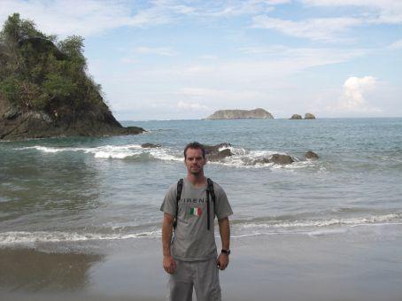 Beach at Manuel Antonio...