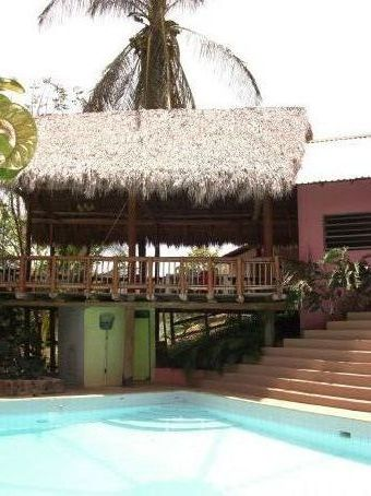 The hotel lodge that we stayed at in Guanacaste