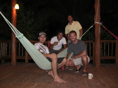 a few of the guys at the Hotel Lodge in Guanacaste...