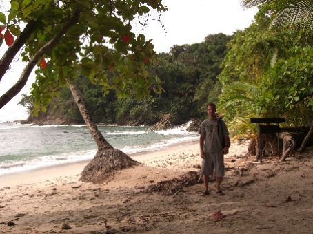 another private beach within Manuel Antonio