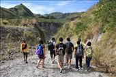 Trekking Mt. Pinatubo which has a beautiful crater lake at the top.: by ryuready, Views[835]