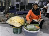 a vegie food seller: by saigon, Views[117]