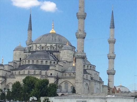 The magnificent Blue Mosque.