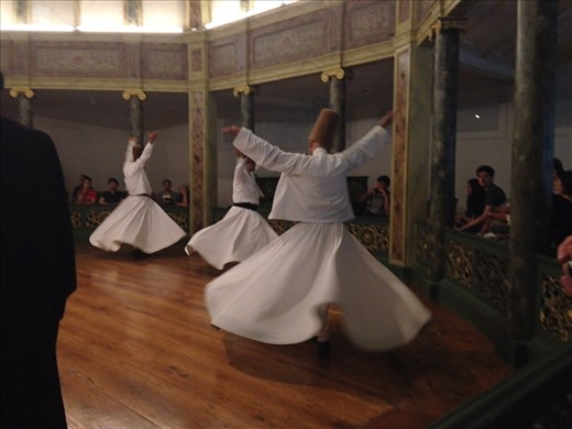 The purpose of the whirling is to get closer to Allah...to seek Divine Love. Stunning experience!