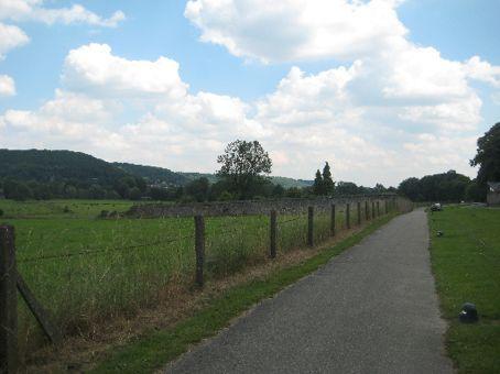 Part of le tour de Sair bike riding track