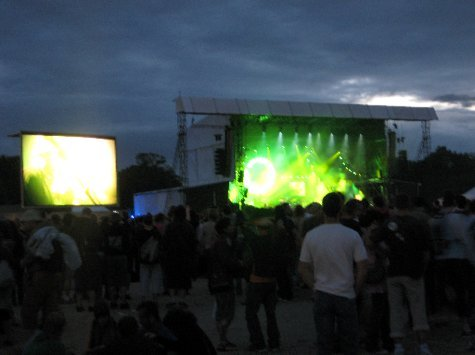 Another of the main stages