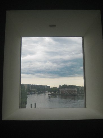 One of my favourite shots from Amsterdam and my trip, taken from inside stedelijk museum. The city is back towards the right