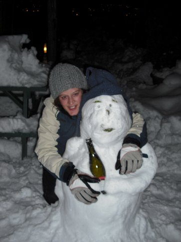 So I decided to have a smiling shot with him instead. It's so tempting to include a 'cold' joke here - would that be too cliche? Henry was surprisingly warm for a snowman, look at that smile!