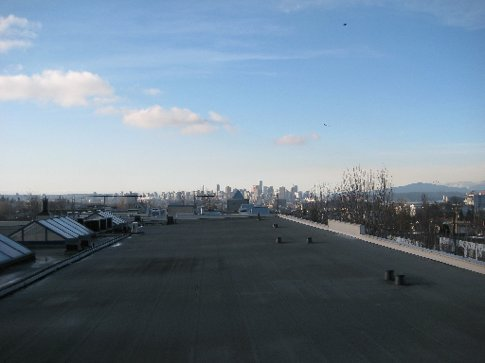 Vancouver from the roof top