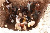 Group of youth are talking water from a natural well which comes from ground: by sajjad, Views[148]